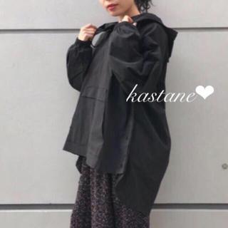 カスタネ(Kastane)のナイロンギャザーアノラックプルオーバー❤︎(パーカー)