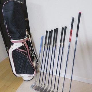 Callaway Golf - レディース ゴルフセット(キャロウェイGEMS、ミズノ)