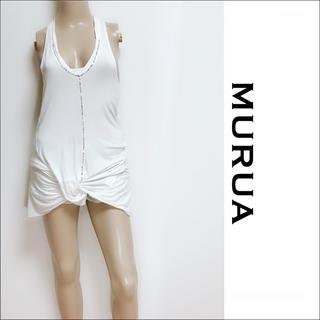 ムルーア(MURUA)のMURUA フロントツイスト チュニック マウジー EMODA♥️SALE♥️(チュニック)