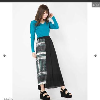セシルマクビー(CECIL McBEE)のCECIL McBEEのロングスカート(ロングスカート)