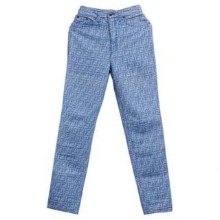 フェンディ(FENDI)のFENDI フェンディ ズッカ デニム パンツ ブルー 29インチ(デニム/ジーンズ)