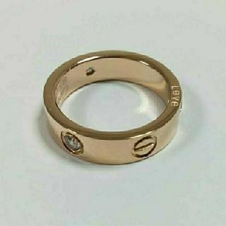 カルティエ(Cartier)の【入荷しました】ビス リング トラベルジュエリー ローズゴールドカラー(リング(指輪))