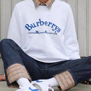 バーバリー(BURBERRY)のBurberry スウェット トレーナー(トレーナー/スウェット)