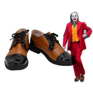 コスプレ靴『ザ・ジョーカー』Joker ジョーカー 起源 2019映画(靴/ブーツ)