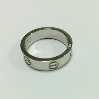 カルティエ(Cartier)のビスリング 石なし ホワイト/ローズ/イエロー(リング(指輪))