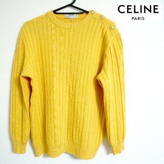 セリーヌ(celine)の【レア】CELINE PARIS オールドセリーヌ ニット Mサイズ(ニット/セーター)