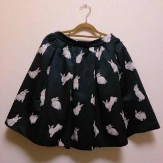 franche lippee - うさぎさんスカート