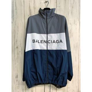 バレンシアガ(Balenciaga)のBalenciaga ポプリントラックジャケット 39size  L(ナイロンジャケット)