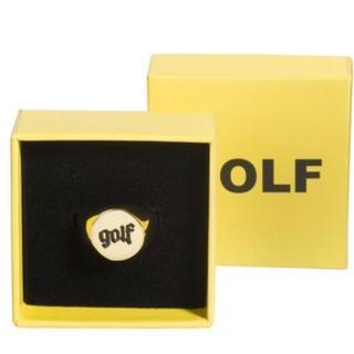 オフホワイト(OFF-WHITE)のGolf Wang 18K Gold ring size 6(リング(指輪))