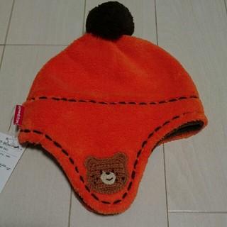 mikihouse - ミキハウス フリースの帽子