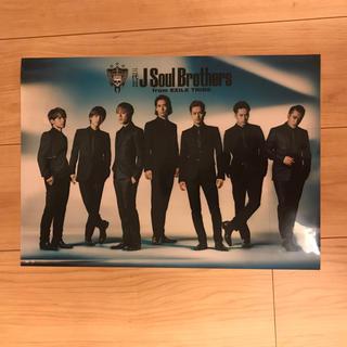 サンダイメジェイソウルブラザーズ(三代目 J Soul Brothers)の三代目 J Soul Brothersのクリアポスター(ポスター)