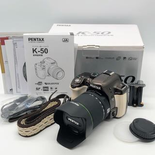 PENTAX - PENTAX K-50 DA18-135mmWRレンズキット