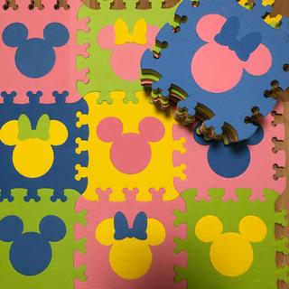 ディズニー(Disney)のジョイントマット  ディズニー 18枚 厚手(フロアマット)