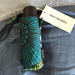 マリメッコ(marimekko)のmarimekko マリメッコ 折り畳み傘(傘)