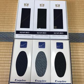 エスプリーク(ESPRIQUE)のメンズ ビジネスソックス 6点セット 新品未使用 ブランド靴下(ソックス)