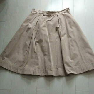 オペーク(OPAQUE)のレディース 膝丈スカート Lサイズ(ひざ丈スカート)