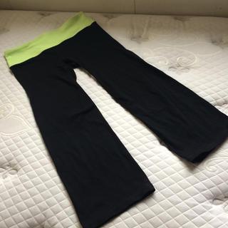 ギャップ(GAP)のGap fit  黒 フィットネス パンツ ストレッチ(トレーニング用品)