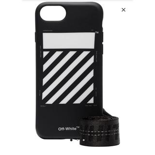 オフホワイト(OFF-WHITE)のoff-white  iPhone8 ケース(iPhoneケース)