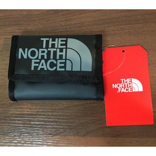 ザノースフェイス(THE NORTH FACE)の【新品】THE NORTH FACE BASE CAMP WALLET 黒(折り財布)
