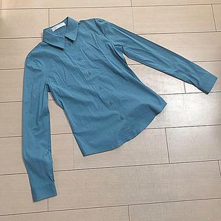 ミュウミュウ(miumiu)の一度だけ着用ミュウミュウ長袖ブラウス40(シャツ/ブラウス(長袖/七分))