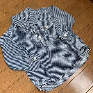 ムジルシリョウヒン(MUJI (無印良品))の☆無印良品☆  シャツ プルオーバー size90(その他)