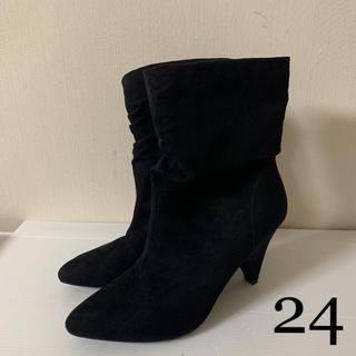 フォーエバートゥエンティーワン(FOREVER 21)の新品タグ付 forever21 ショートブーツ 7(ブーツ)