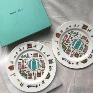 Tiffany & Co. - ティファニー 5thアベニュー プレート 19cm ペア 2枚組 デザート