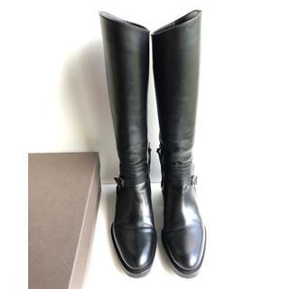 サルトル(SARTORE)の36.5 SARTORE サルトル ロングブーツ  黒 23(ブーツ)