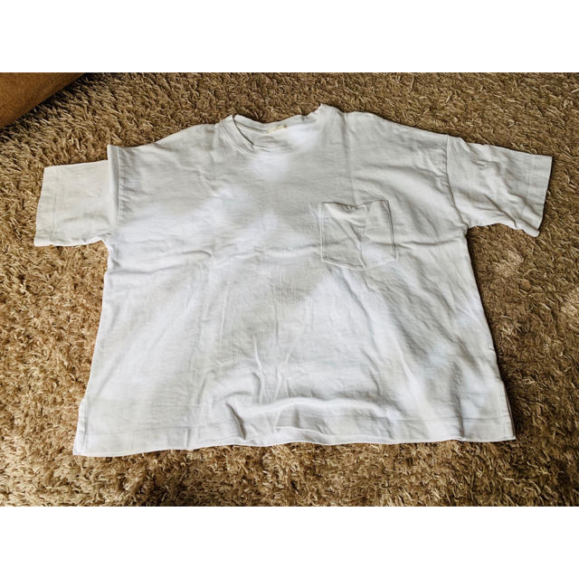 GU(ジーユー)のGU ビッグ Tシャツ レディースのトップス(Tシャツ(半袖/袖なし))の商品写真