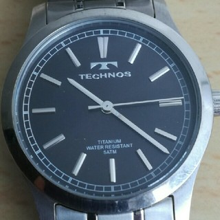 TECHNOS - TECHNOS メンズ腕時計