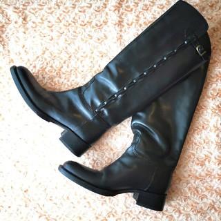 サルトル(SARTORE)の定価約10万★美品本物★サルトルロングブーツ黒SARTORE36(ブーツ)
