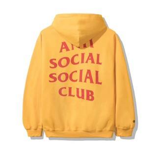 アンチ(ANTI)の19ss assc x dhl gold hoodie(パーカー)