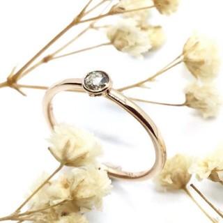 トクトクジュエリー × メイジュエリー ブラウン ダイヤモンド K18 リング(リング(指輪))