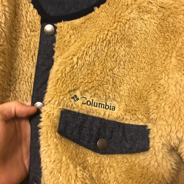 Columbia(コロンビア)のボアブルゾン Columbia コロンビア ボアジャケット メンズのジャケット/アウター(ブルゾン)の商品写真