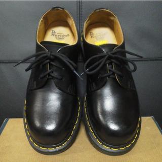 ドクターマーチン(Dr.Martens)のDr.Martens 3ホール UK4 黒 1925 スチールトゥ(ローファー/革靴)