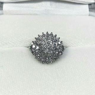 Pt900☆1カラット☆ダイヤモンドリング☆(リング(指輪))