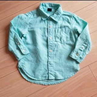 ベビーギャップ(babyGAP)のbabyGAP リネンシャツ 95(ブラウス)