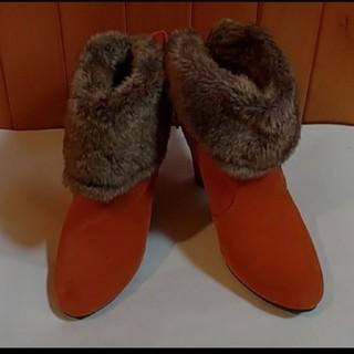 ファー付ショートブーツ(ブーツ)