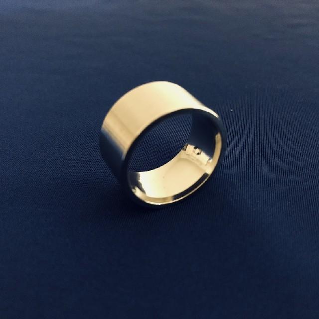 【リピーター続出!】極太 ワイド 平打リング【21サイズ】他サイズ有り メンズのアクセサリー(リング(指輪))の商品写真