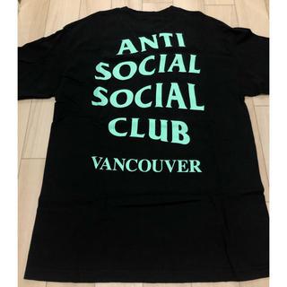 アンチ(ANTI)のanti social social club 都市Tシャツ(Tシャツ/カットソー(半袖/袖なし))