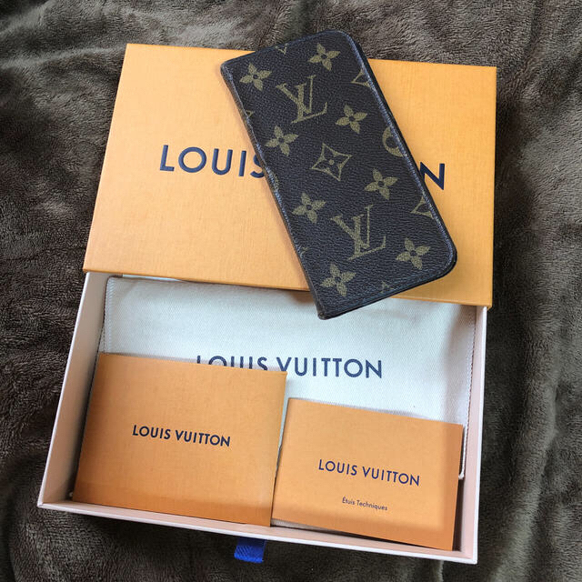 LOUIS VUITTON - LOUIS VUITTON  I PHONE X ケースの通販