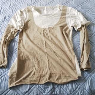 イタズラ(itazura)のitazura レイヤードロングTシャツ(Tシャツ/カットソー(七分/長袖))