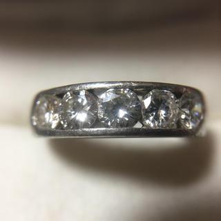 Pt900 ダイヤモンド 指輪  総重量6.0g(リング(指輪))