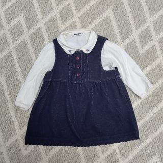 ファミリア(familiar)のプリン様専用 ファミリア ジャンパースカート 70cm(ワンピース)