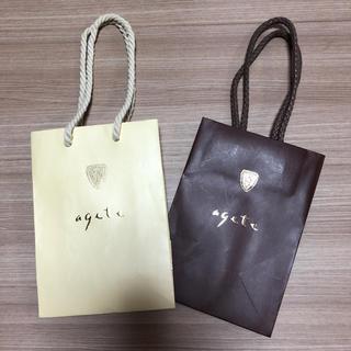 アガット(agete)のagete アガット ショップ袋 紙袋 ショッパー(ショップ袋)