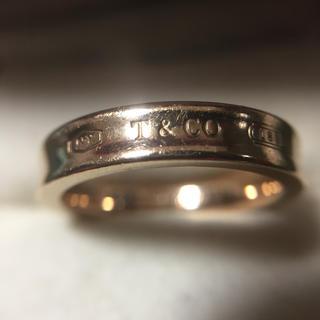 ティファニー(Tiffany & Co.)の鑑定済み 正規品 ティファニー  指輪(リング(指輪))