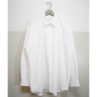 COMOLI - toironier カシュクールシャツ