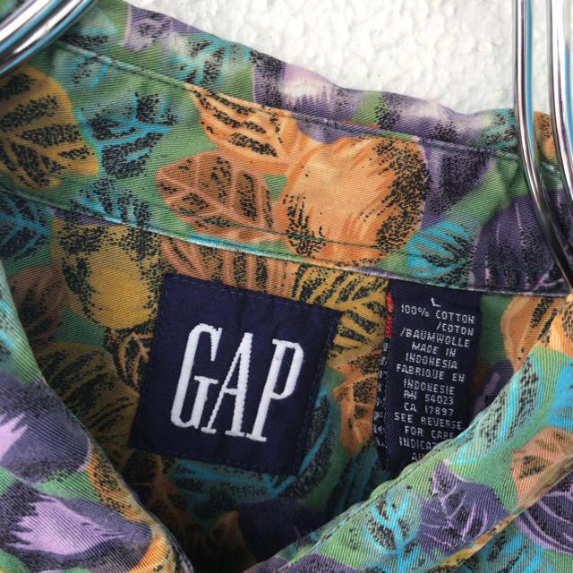 GAP(ギャップ)の激レア!! オールドGAP フルーツパターンシャツ 総柄シャツ メンズのトップス(シャツ)の商品写真