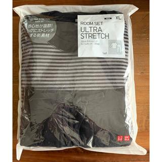 ユニクロ(UNIQLO)の【新品未使用】ユニクロ ウルトラストレッチルームセット(長袖)メンズ XL(その他)