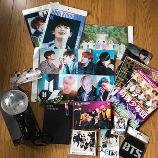 ボウダンショウネンダン(防弾少年団(BTS))の防弾少年団BTS 公式ペンライト、CD、グッズセット(K-POP/アジア)